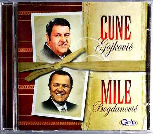 CD PREDRAG CUNE GOJKOVIC MILE BOGDANOVIC COMPILATION 2014 GOLD AUDIO VIDEO