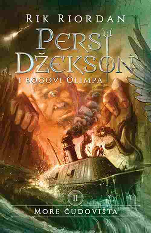 Persi Dzekson i bogovi Olimpa II More cudovista Rik Riordan knjiga 2018 za decu