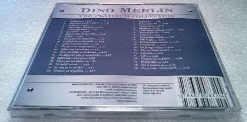 2CD DINO MERLIN THE PLATINUM COLLECTION  2006 Album