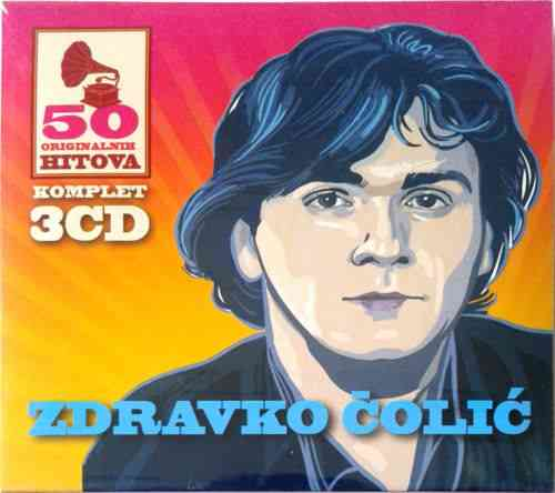 3CD ZDRAVKO COLIC 50 ORIGINALNIH PESAMA digipak gold audio video colic srbija yu