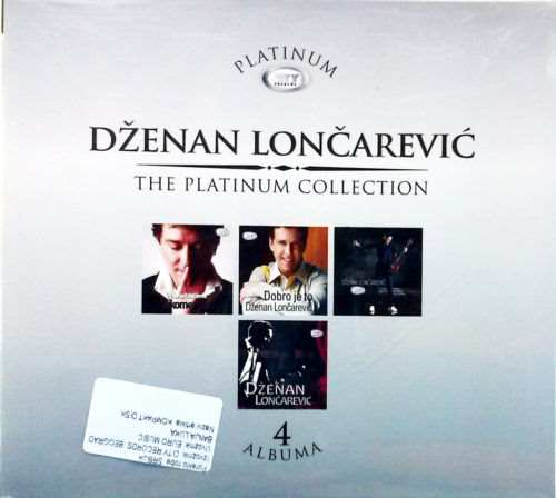 4CD DZENAN LONCAREVIC  THE PLATINUM COLLECTION 2013 serbia  city records