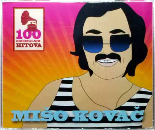 5CD MISO KOVAC  100 ORIGINALNI?H PJESAMA compilatio?n 2012 croatia records pop