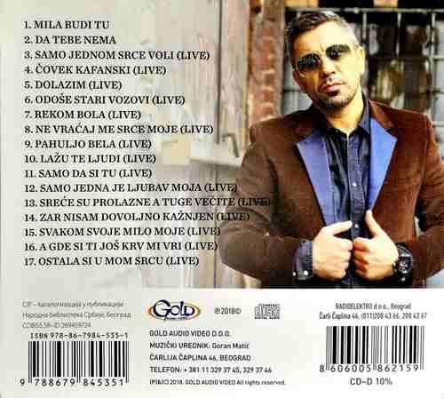 CD JOVAN PERISIC LIVE + 2 NOVE PESME