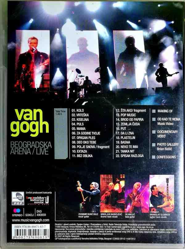 DVD VAN GOGH BEOGRADSKA ARENA LIVE 2007