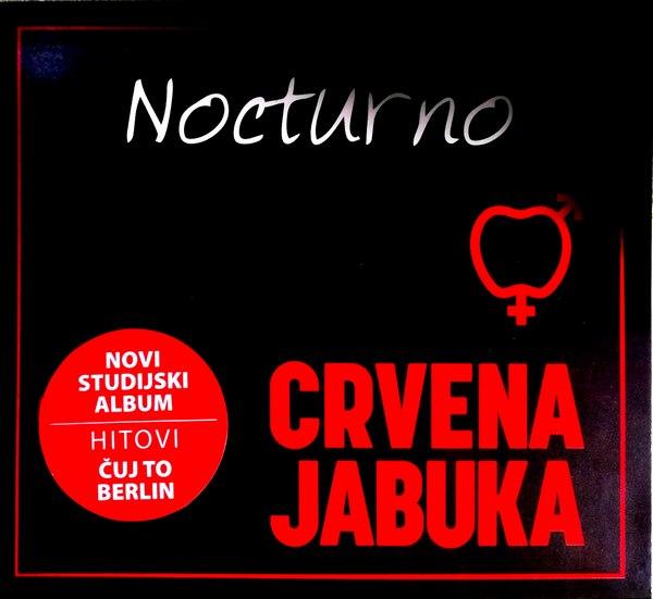 CD CRVENA JABUKA NOCTURNO ALBUM 2018