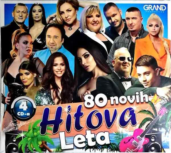 4CD GRAND 80 NOVIH HITOVA LETA 2019 KOMPILACIJA 2019