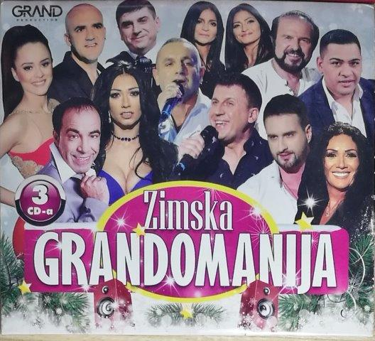 3CD ZIMSKA GRANDOMANIJA GRAND KOMPILACIJA 2019