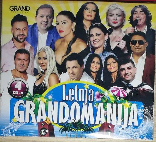 4CD LETNJA GRANDOMANIJA GRAND KOMPILACIJA 2019