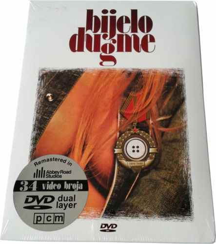 BIJELO DUGME DVD (ABBEY ROAD REMASTERED 2014) 34 VIDEO BROJA bregovic goran top