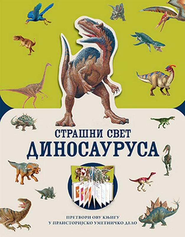 Strasni svet dinosaurusa  Pet Dzejkobs  knjiga 2019 Knjige za decu