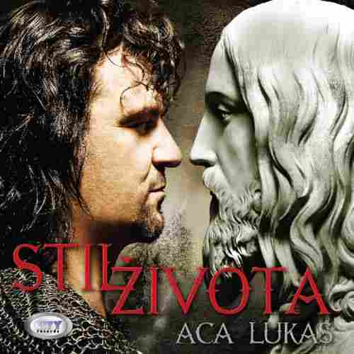 CD ACA LUKAS STIL ZIVOTA  album 2012 Serbian, Bosnian, Croatian, city records