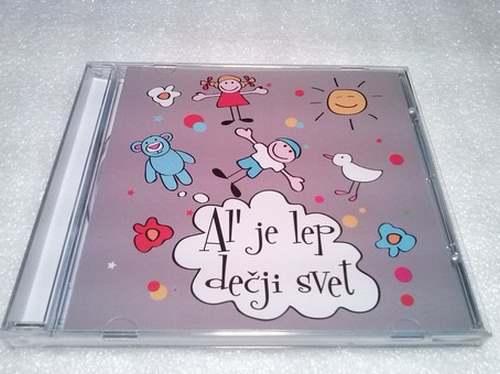 CD AL` JE LEP DECJI SVET album 2008 Serbian Bosnian Croatian music