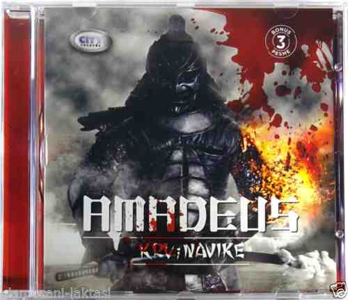 CD AMADEUS KRV I NAVIKE ALBUM 2015 pop balkan zabavna city records srbija bosna