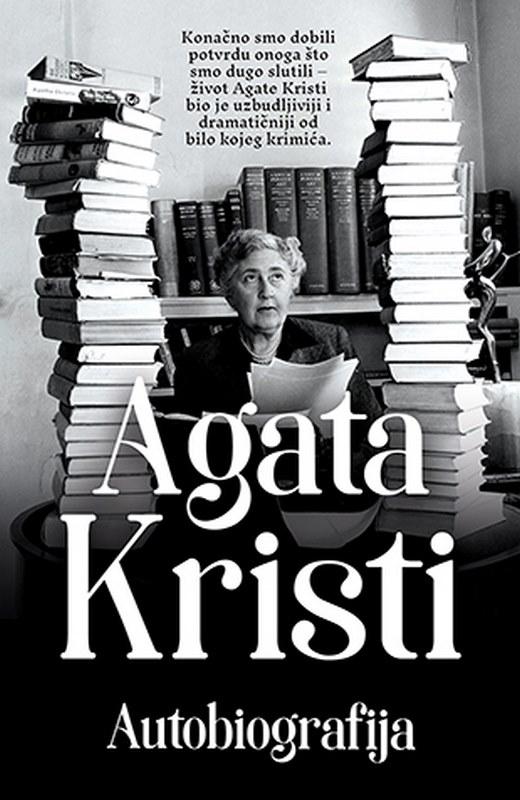 Autobiografija  Agata Kristi  knjiga 2020 Autobiografija