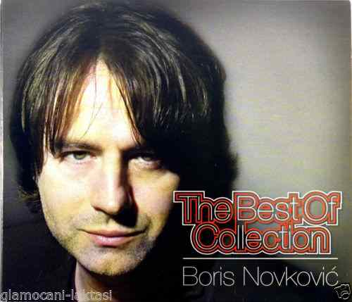 CD BORIS NOVKOVIC THE BEST OF COLLECTION compilation 2015 srbija hrvatska bosna