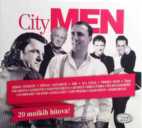 CD CITY MEN 2013 sergej cetkovic marko bulat tose proeski dado glisic ok band yu