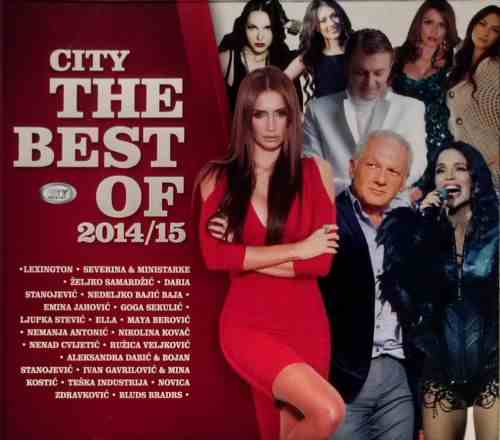 CD CITY THE BEST OF 2014/15 Compilation 2014 City records Serbia Bosnia Croatia