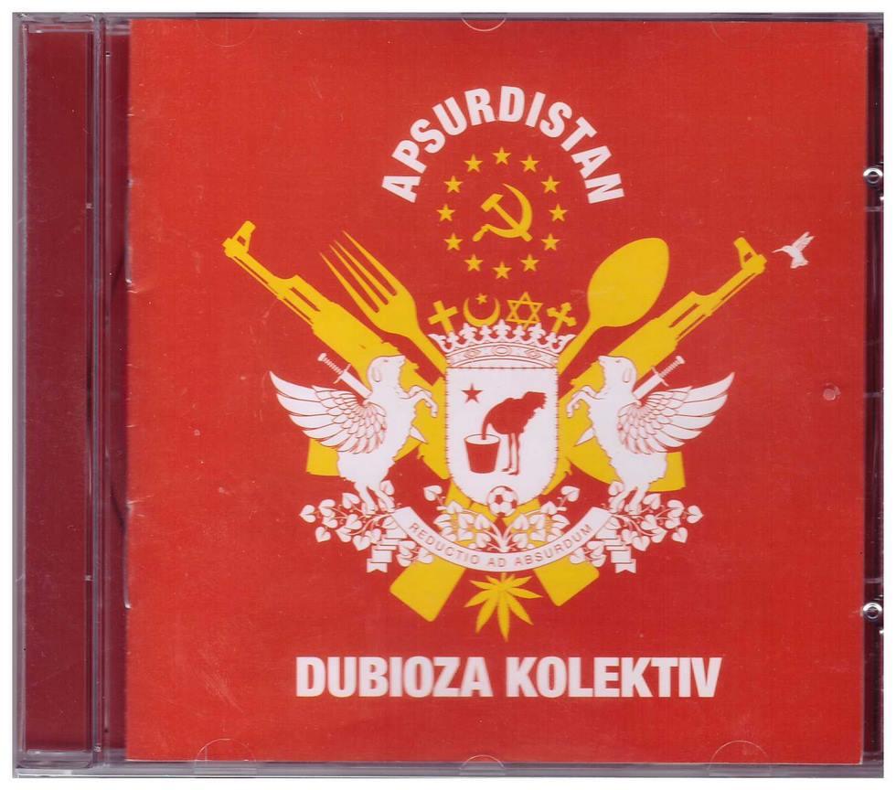 CD Dubioza Kolektiv Apsurdistan album 2013