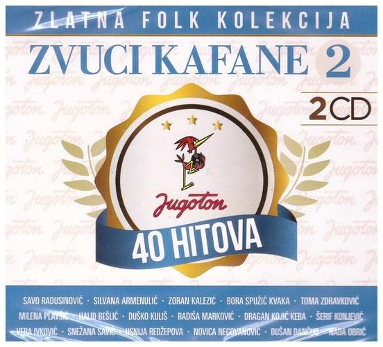 2CD ZLATNA FOLK KOLEKCIJA ZVUCI KAFANE 2 2019