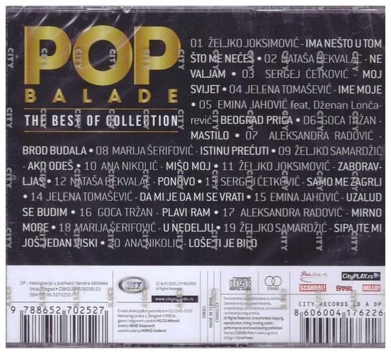 CD POP BALADE - THE BEST OF COLLECTION KOMPILACIJA 2020