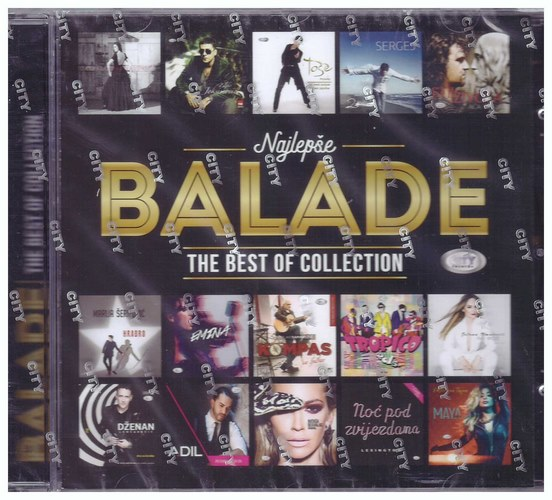 CD NAJLEPSE BALADE - THE BEST OF COLLECTION KOMPILACIJA 2021