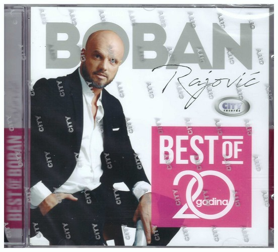 CD BOBAN RAJOVIC BEST OF 20 GODINA KOMPILACIJA 2020