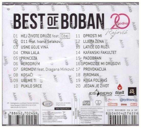 CD BOBAN RAJOVIC BEST OF 20 GODINA KOMPILACIJA 2020