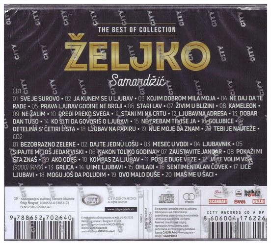 2CD ZELJKO SAMARDZIC - THE BEST OF COLLECTION KOMPILACIJA 2021