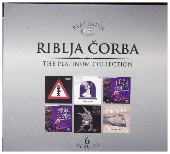 6CD RIBLJA CORBA - THE PLATINUM COLLECTION - 6 ALBUMA 2021