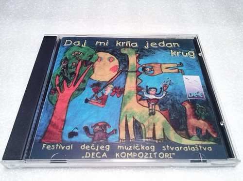 CD DAJ MI KRILA JEDAN KRUG album 2008 Serbian Bosnian Croatian music