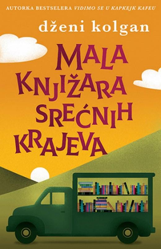 Mala knjizara srecnih krajeva  Dzeni Kolgan  knjiga 2021 Ciklit