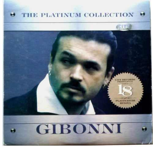 CD GIBONNI  THE PLATINUM COLLECTION 2007 Digipak croatia city records