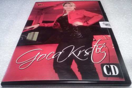 CD GOCA KRSTIC   ALBUM 2012 Serbian, Bosnian, Croatian GOCA KRSTIC BN MUSIC
