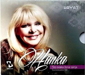 CD HANKA PALDUM  STO SVAKA ZENA SANJA album 2013 hayat production folk Bosnia