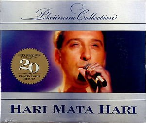 CD HARI MATA HARI PLATINUM COLLECTION 2009 digipak srpska bosanska hrvatska
