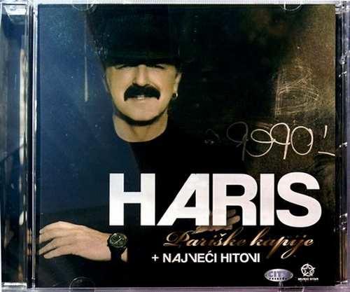 CD HARIS DZINOVIC  PARISKE KAPIJE + NAJVECI HITOVI album 2011 muzika narodna