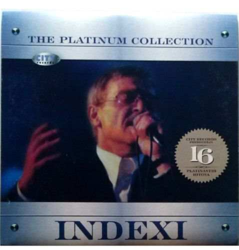 CD INDEXI  THE PLATINUM COLLECTION 2008 Davorin Popovic zabavna muzika glazba