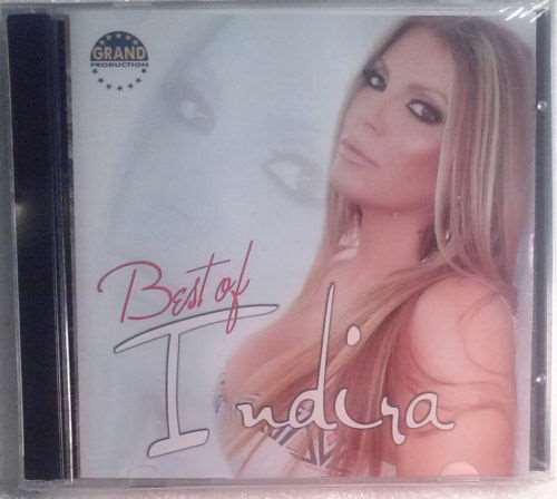 2CD INDIRA  BEST OF INDIRA compilation 2013 Serbian, Bosnian, Croatian, Serbia