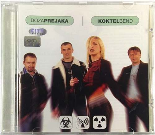 CD KOKTEL BEND  DOZA PREJAKA album 2002 Serbian, Bosnian, Croatian,  Pop dance