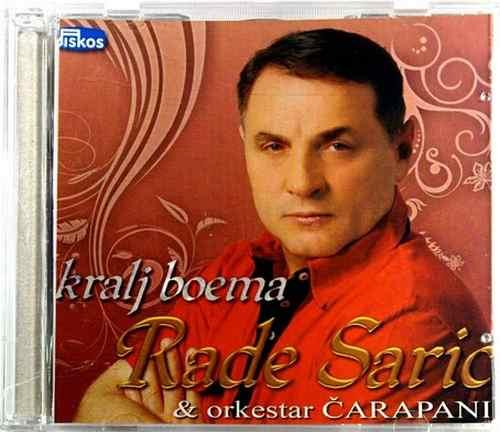 CD KRALJ BOEMA RADE SARIC & ORKESTAR CARAPANI album 2010 Serbian Bosnian Croatia