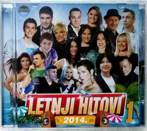 CD LETNJI HITOVI 1  COMPILATION 2014 GRAND PRODUCTION SERBIEN BOSNIEN KROATIEN