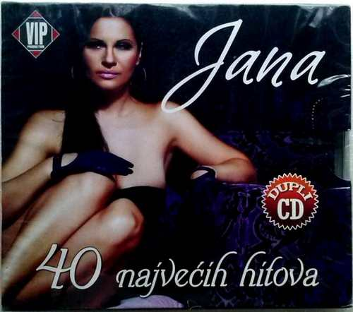 2CD JANA  40 NAJVECIH HITOVA compilation 2014 Serbian, Bosnian, Croatian Serbia