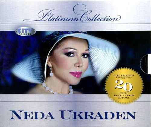 CD NEDA UKRADEN PLATINUM COLLECTION 20 PLATINASTIH HITOVA pop srbija hrvatska yu