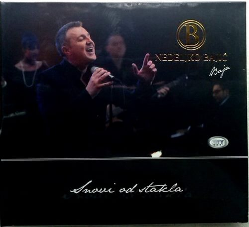 CD NEDELJKO BAJIC BAJA  SNOVI OD STAKLA album 2014 serbia croatia city records