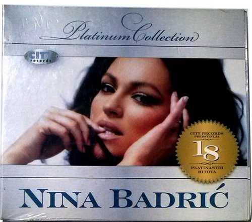 CD NINA BADRIC  THE PLATINUM COLLECTION 2009 Digipak serbia city records