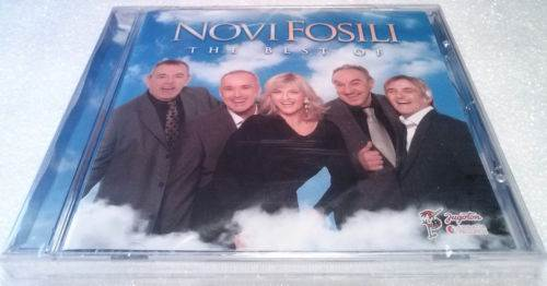 CD NOVI FOSILI  THE BEST OF 2013 JUGOTON CROATIA RECORDS GOLD AUDIO VIDEO