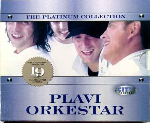 CD PLAVI ORKESTAR THE PLATINUM COLLECTION 2007 pop sarajevo bosnia city records