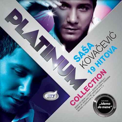 CD SASA KOVACEVIC  THE PLATINUM COLLECTION 2011 Pop Sasa Kovacevic City records