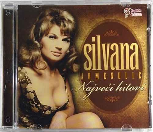 CD SILVANA ARMENULIC  NAJVECI HITOVI narodna muzika glazba jugoslavija