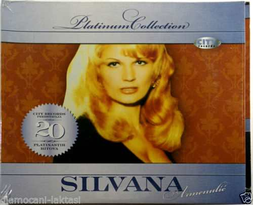 CD SILVANA ARMENULIC PLATINUM COLLECTION 2009 folk narodna bosna srbija hrvatska